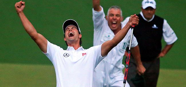 Dedication Of Victory To Greg Norman By Adam Scott: Masters 2013: