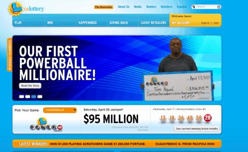 CA lottery 2nd chance