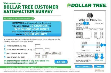 Win $1500 Weekly In Dollar Tree Feedback Survey - In NewsWeekly