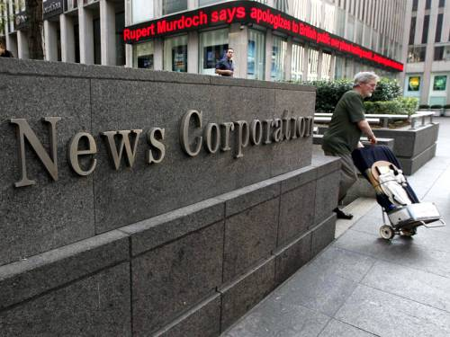 The News Corp To Be Split On 28th Of June