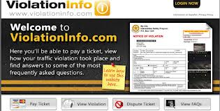 Join Violation Info To Pay Your Tickets Online