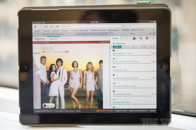aero TV Over Internet
