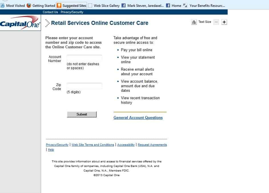 hrsaccount retail services login