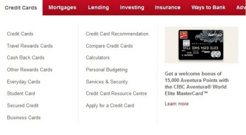 Join cibc canada to get cash back credit cards online in newsweekly choose the card which is right for you and then you will be able to click apply now cibc reheart Choice Image