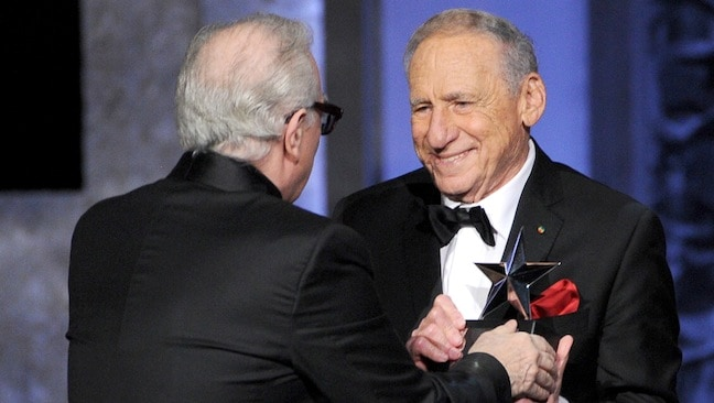 The Lifetime Achievement Award Given To Mel Brooks By AFI