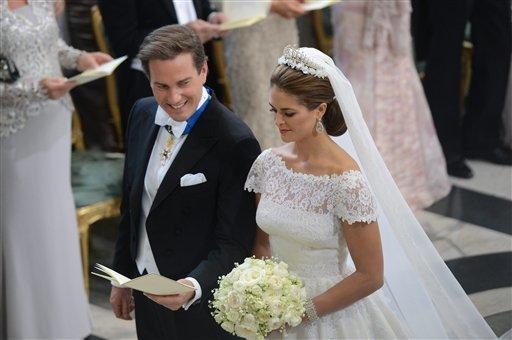 Princess Madeleine Of Sweden Marries US-British Businessman