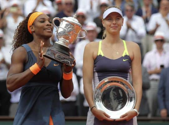 Maria Sharapova Beaten By Serena Williams To Win French Open Title