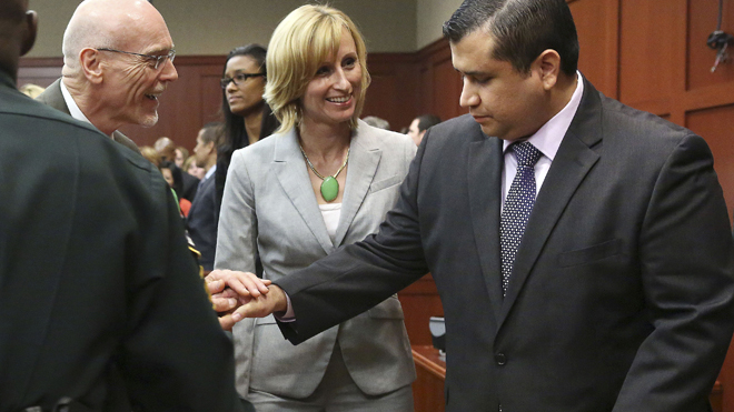 The Case Of George Zimmerman Over To Jury
