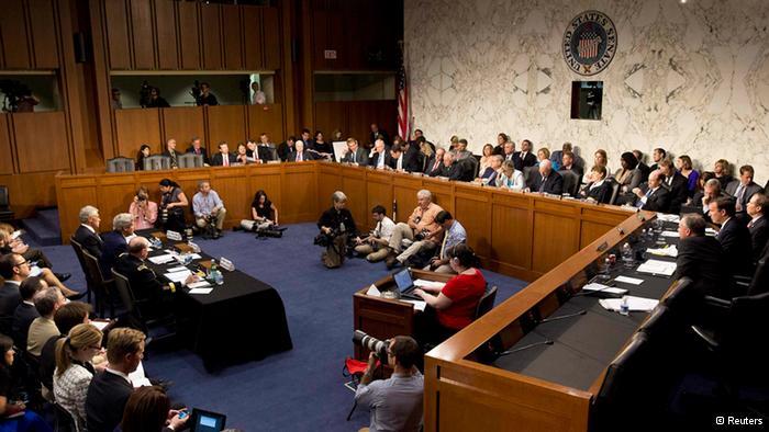 Votes Of Senate Panel For Authorizing Force Within Syria