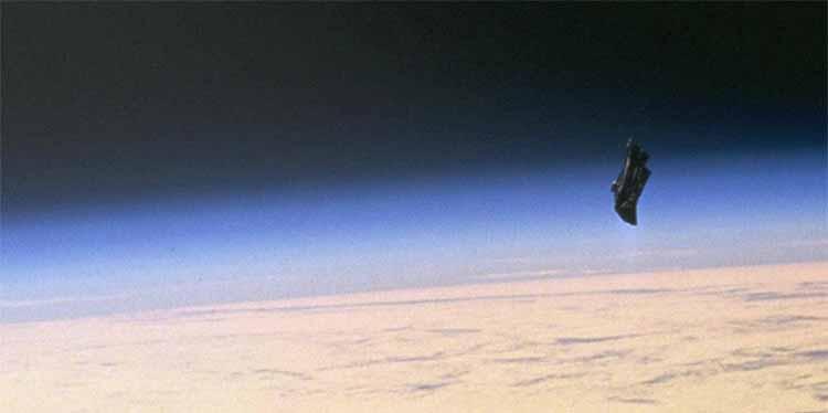 The Black Knight Satellite
