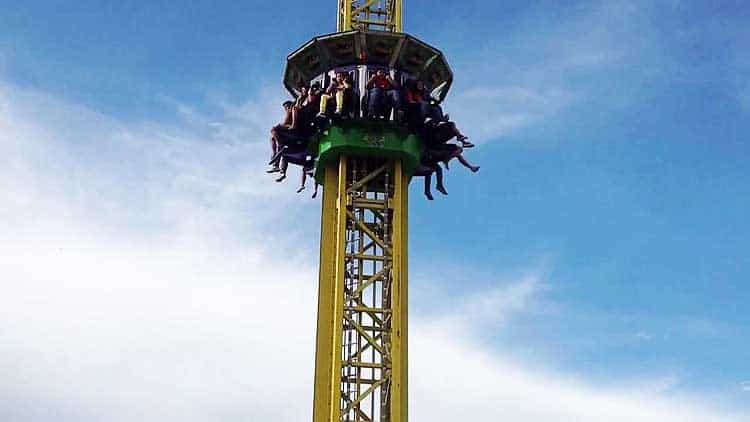 Drop Tower Accident