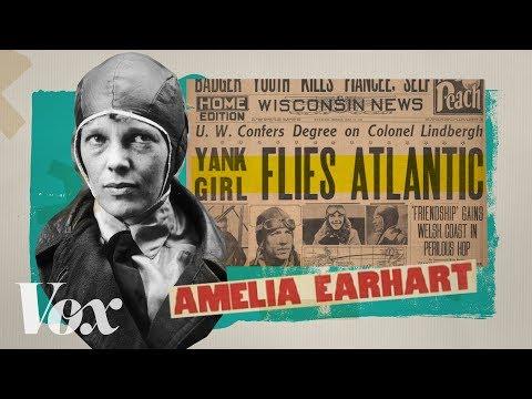 Amelia Earhart is so Famous