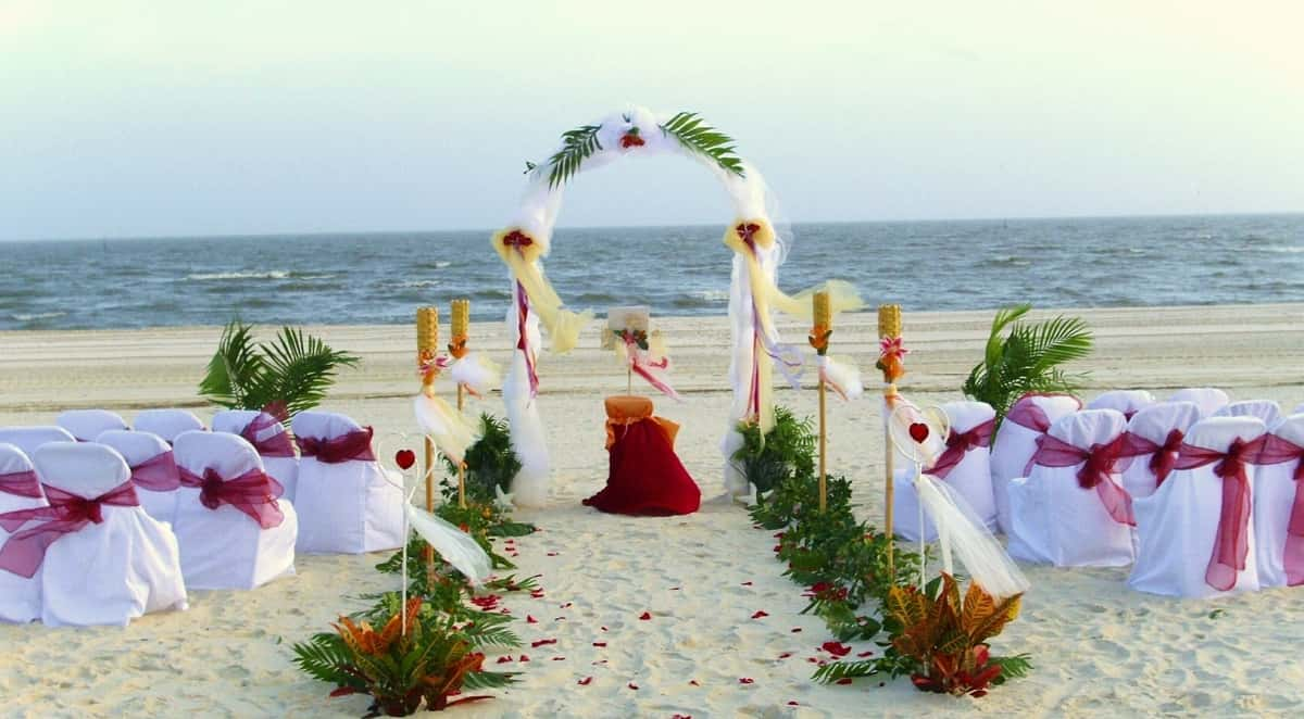 How to plan a destination beach wedding