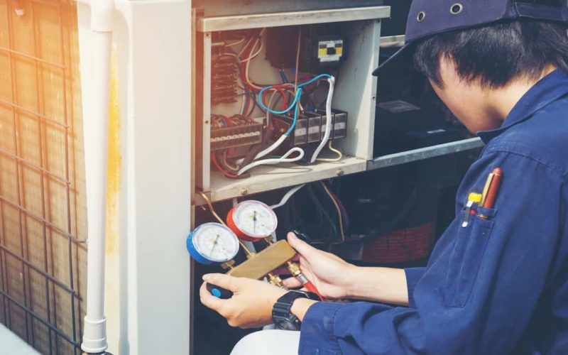 central air conditioner maintenance