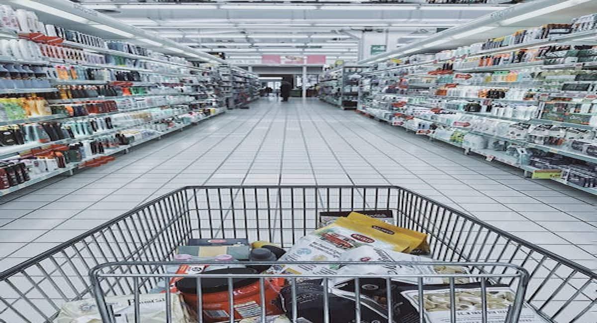 making groceries