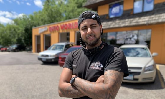 Black-owned mechanic in Minneapolis