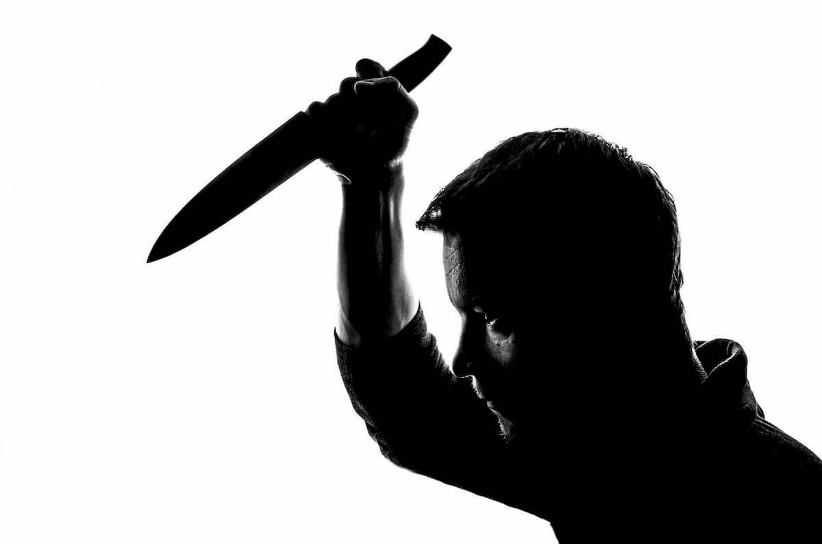 Knife-Wielding Attacker
