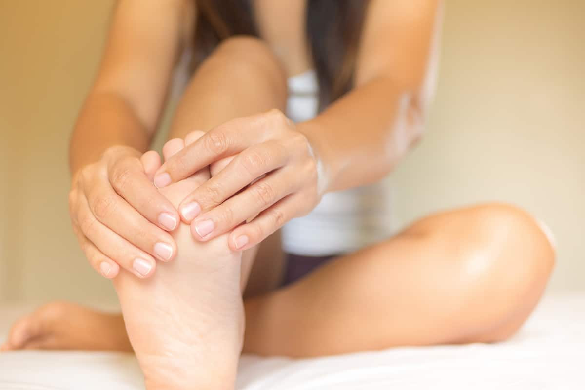 Painful feet from Plantar Fasciitis