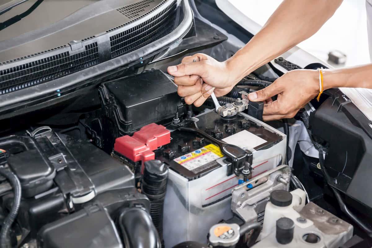 average car battery life
