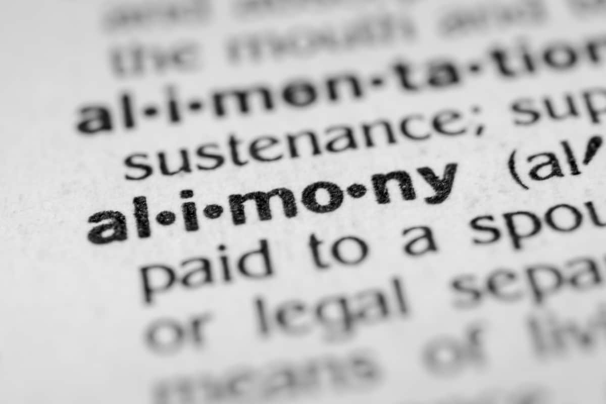 alimony laws