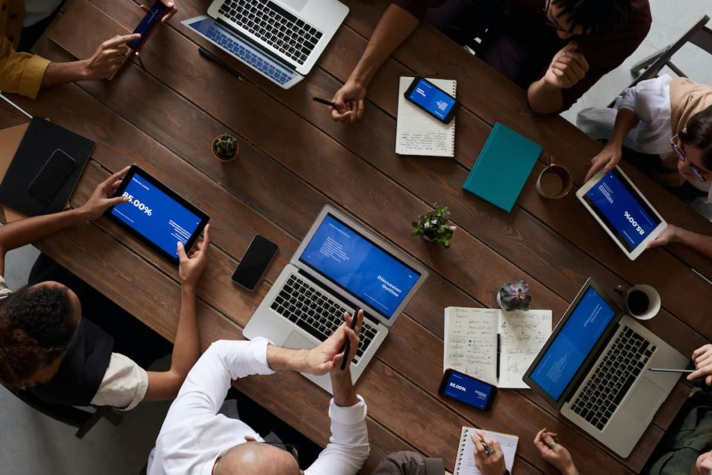 How enterprise application works