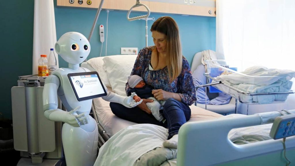 Robots with AI vs. Medical Doctors