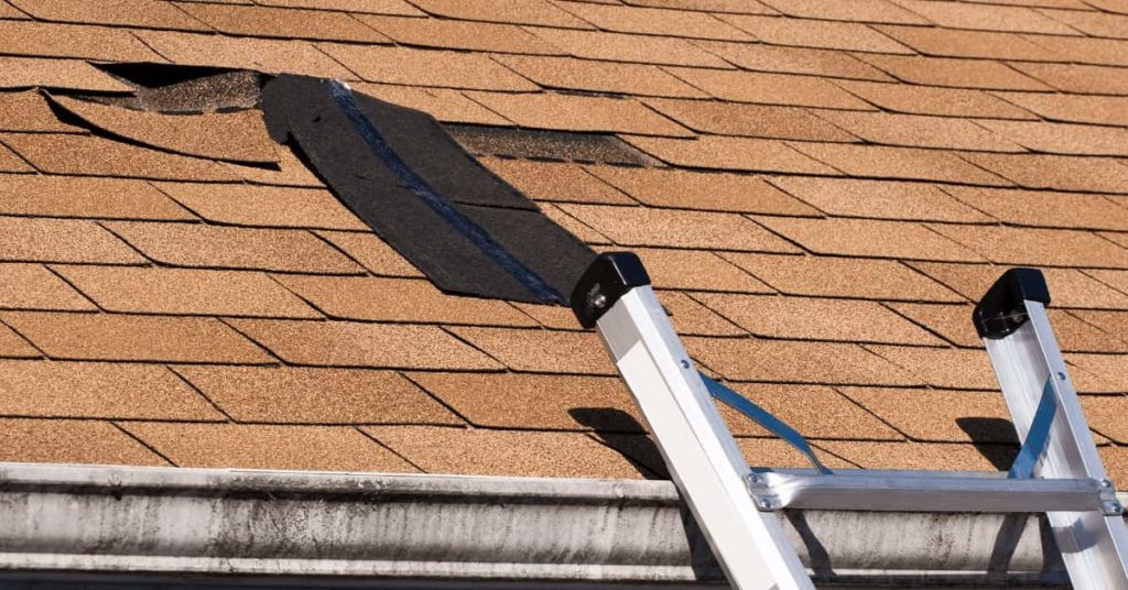 Loose and Missing Shingles