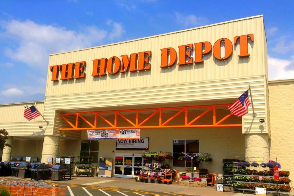 Home Depot's hours vary from area to area