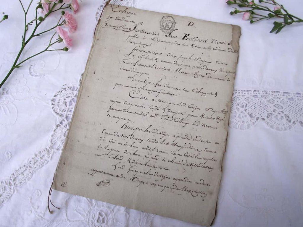 True Antiques Have Documentation