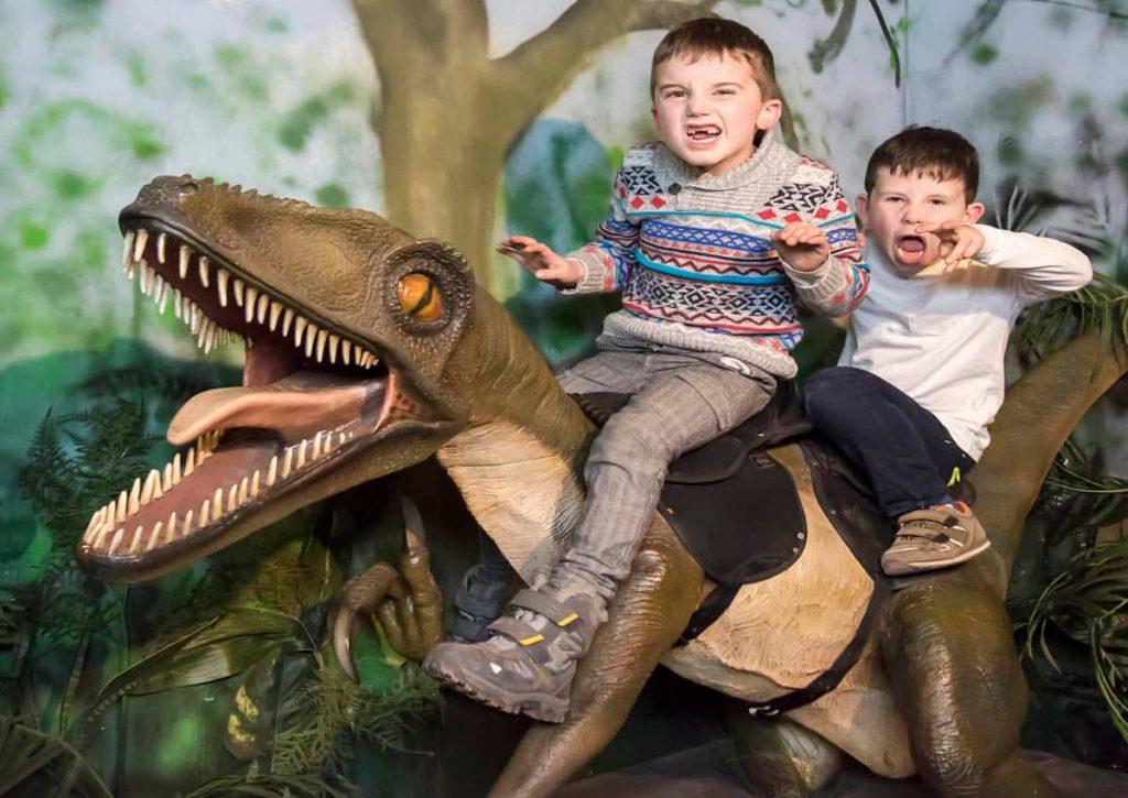 Sitting on a Dinosaur