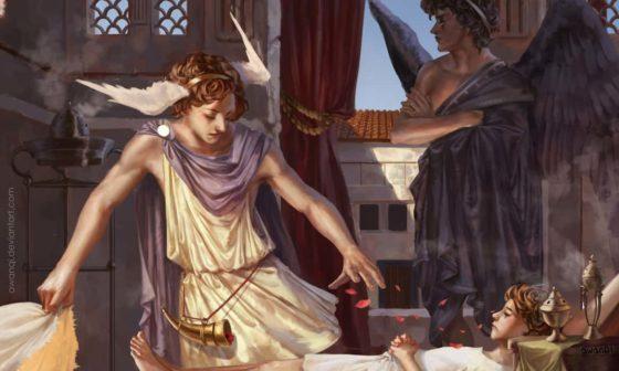 Thanatos and Hypnos