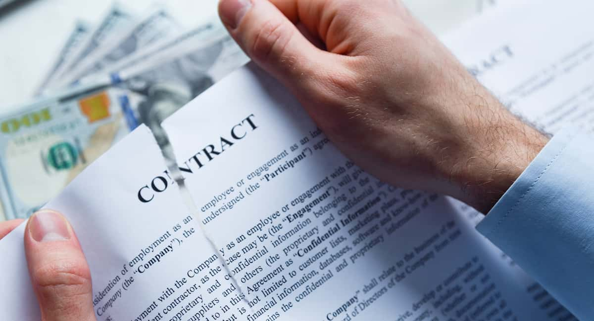 Business Contract Breach