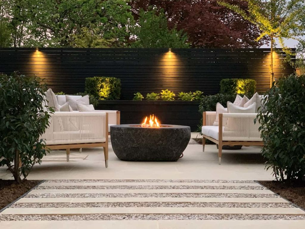 Fire Pits and Courtyards