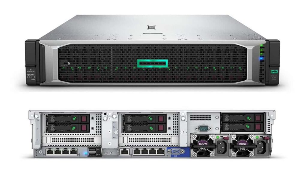HPE ProLiant DL380 Generation 10 Server Features