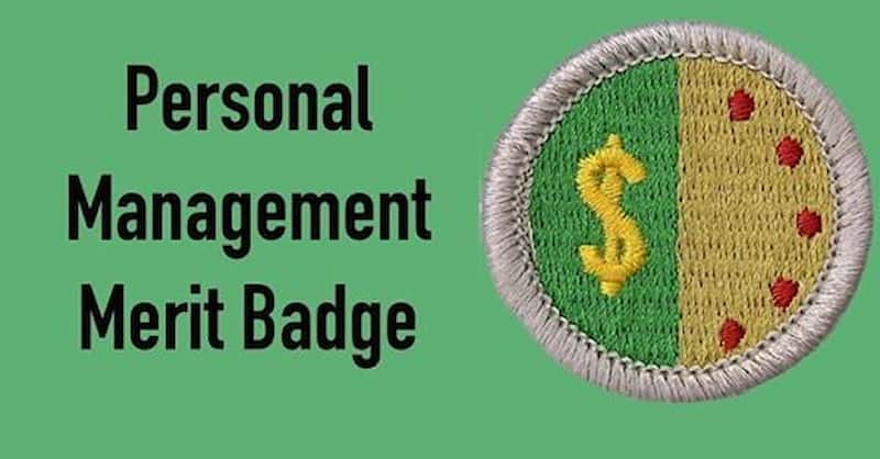 Personal Management Merit Badge Requirements