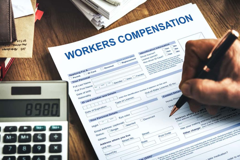 Apply for Worker's Compensation