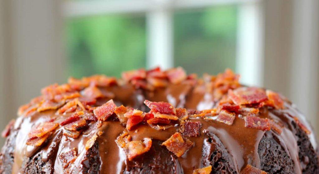 Bacon Chocolate Pound Cake