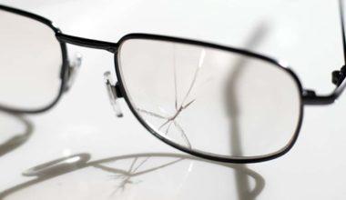 Breaking Eyeglasses