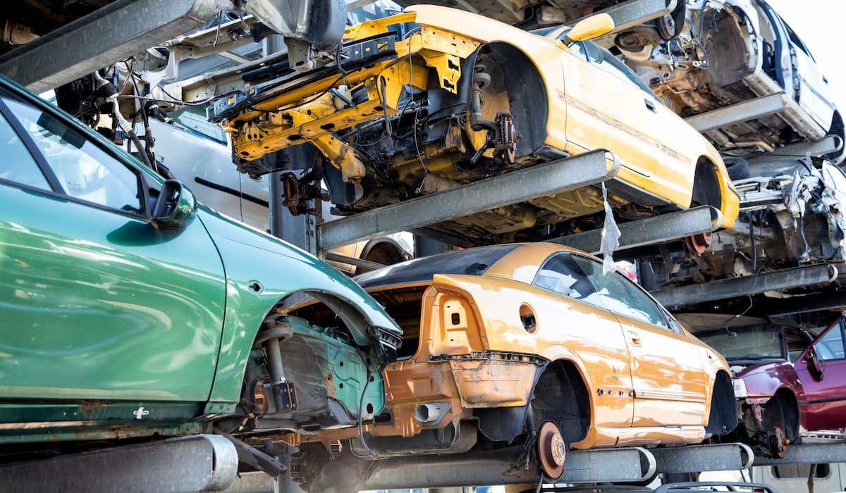 salvage cars