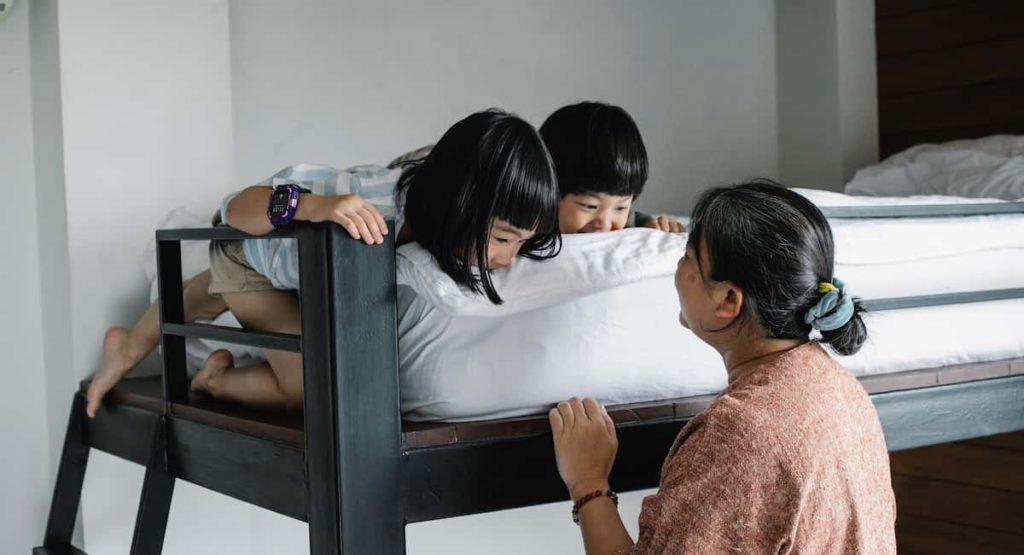 Bunk beds Creates Sibling Bonding