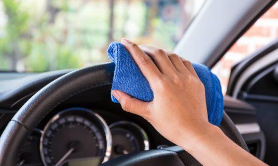 Steering Wheel Cleaner